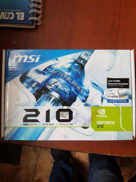 MSI Geforce 210 Nueva