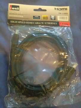 A la venta cable HDMI de tecnologia de alta velocidad y soporte 3D