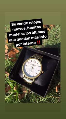 Se vende nuevos muy buenos relojes de oferta negociables info por interno‼️‼️