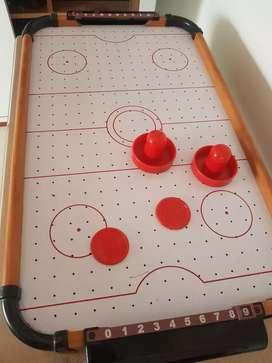 Juego de mesa hockey aire