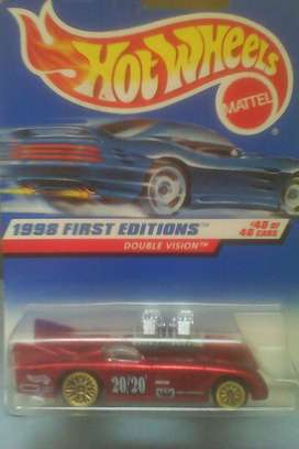 1998 Hot Wheels Double Vision Collectabe