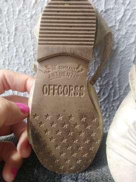 Zapatos offcorss talla 21