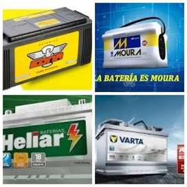 Baterias , Motos, autos,camionetas,camiones, tractores y maquinas viales.!! OFERTA!!!
