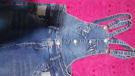 Overol jeans