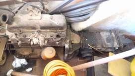 Fiat 600 MOTOR Y CAJA DE CAMBIOS