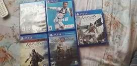 Vendo PSP y juegos de ps4 seminuevos