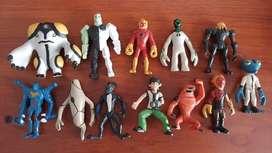Set de figuras/personajes de juguete de Ben 10