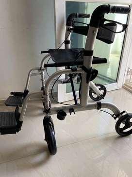 Silla de ruedas - Caminador