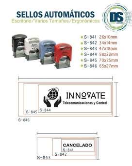 venta de sellos portables/ de escritorios/ sellos secos