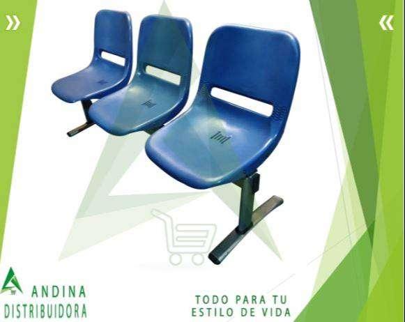 Silla De Espera Tripersonal, Consultorio, Hospital 0