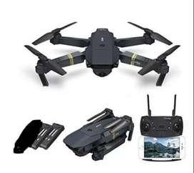 DRONE E58 WIFI camara HD conexión con APP
