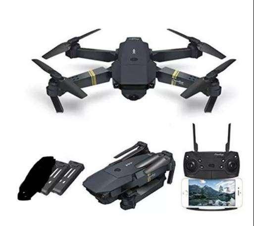 DRONE E58 WIFI camara HD conexión con APP 0