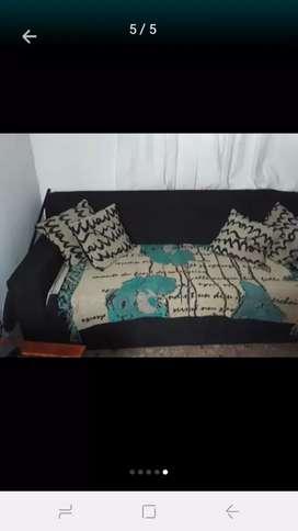 Sofa cama dos plasas muy bueno