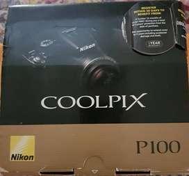 Vendo Cámara Nikon Coolpix P100, en caja con todos sus accesorios.