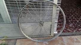 Llanta de bicicleta Rod 26..acero ..centrada .usada.muy buena