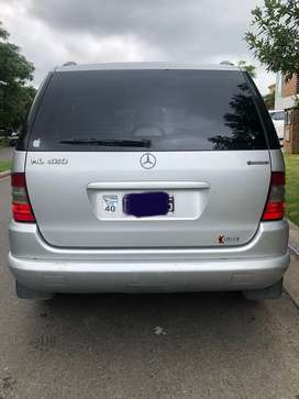 Ml 320 4x4 automática impecable