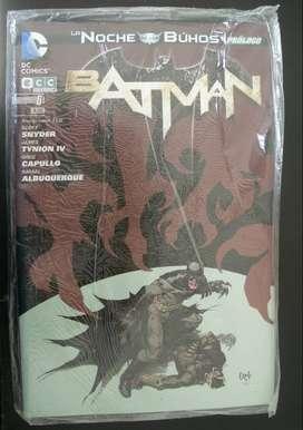 Batman, La noche de los Buhos. Historia completa.