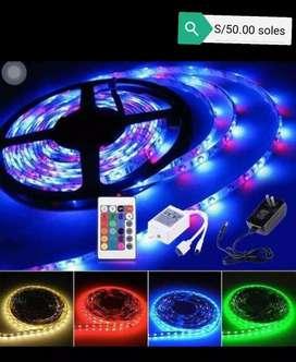Luces led 12 colores