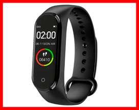 Reloj inteligente Digital M4 para hombre y mujer, pulsera con control del ritmo cardíaco, contador de calorías