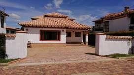 Casa para estrenar en conjunto cerrado en Villa de Leyva