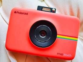 Camara polaroid snap touch trajeta memoria regalo 32gb, pack de papeles 10 fotos