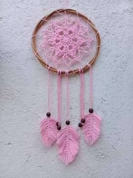 Atrapasueño en Crochet