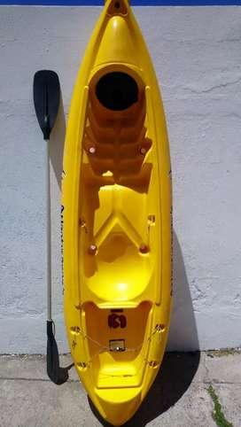 Vendo kayak marca atlantikayak modelo k1 usado y en excelente estado