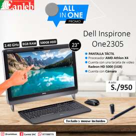 ALL IN ONE (Dell Inspirone One 2305) PANTALLA TÁCTIL  23""