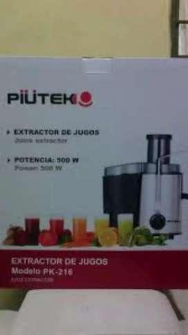 Extractor de Jugos Piutek