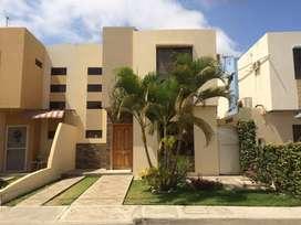 Se alquila casa amoblada en Urbanizacion Montecristo, cerca hospital IESS Manta