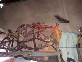 Cuadrante de bicicleta