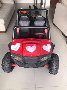 Peg Perego Polaris Rzr 900 Red Carro Eléctrico 12v Niños