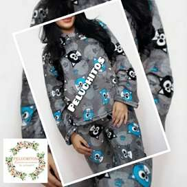 Pijamas Termicas para niños Caballeros Y