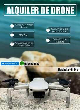 Alquiler de Drone Machala
