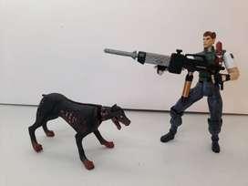 Resident Evil:  Jill Valentine , Chris Redfield y Zombi (1998)