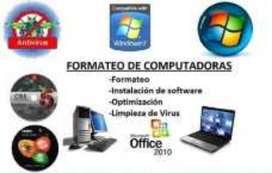 Formateo de Computadores equipos de computo