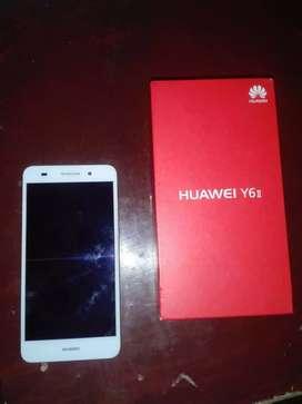 se vende o se cambia Huawei y6 (leer descripción)