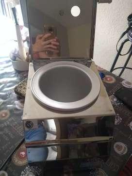 Máquina para derretir chocolate nuevo con dos recipiente
