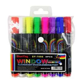 Marcadores Neon Borrable Set X 8