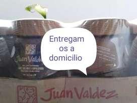 Cafe juan valdez 100% colombiano para negocio 90$ la paca