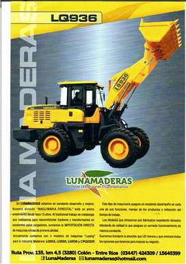 CARGADORA LQ936 año 2014