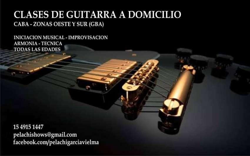 CLASES DE PARTICULARES GUITARRA A DOMICILIO RAMOS HAEDO SAN JUSTO 0