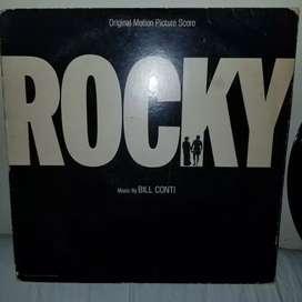 Disco americano original película Rocky, artículo de colección
