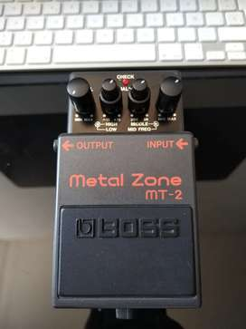 Pedal Metal Zone Boss | MT-2