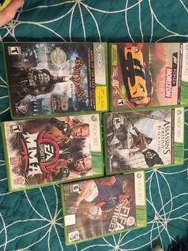 5 video juegos