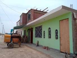 Vendo casa material noble C.P. Las Antillas (Paracas)