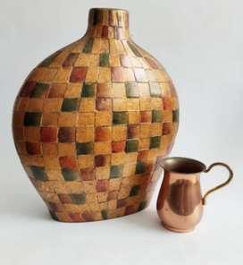 Jarrón en cerámica