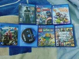 Pack de juegos de ps4