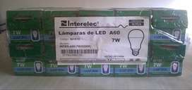 Pack de lámparas led 7w fria