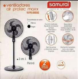 Ventilador Air protect máx 2 en 1-16''